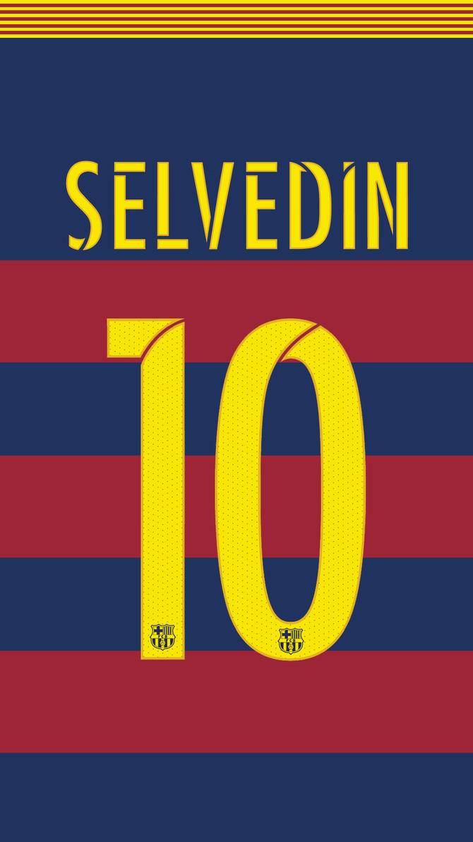 FC Barcelona jersey 2015/16 (NEW FONT) by SelvedinFCB on ...