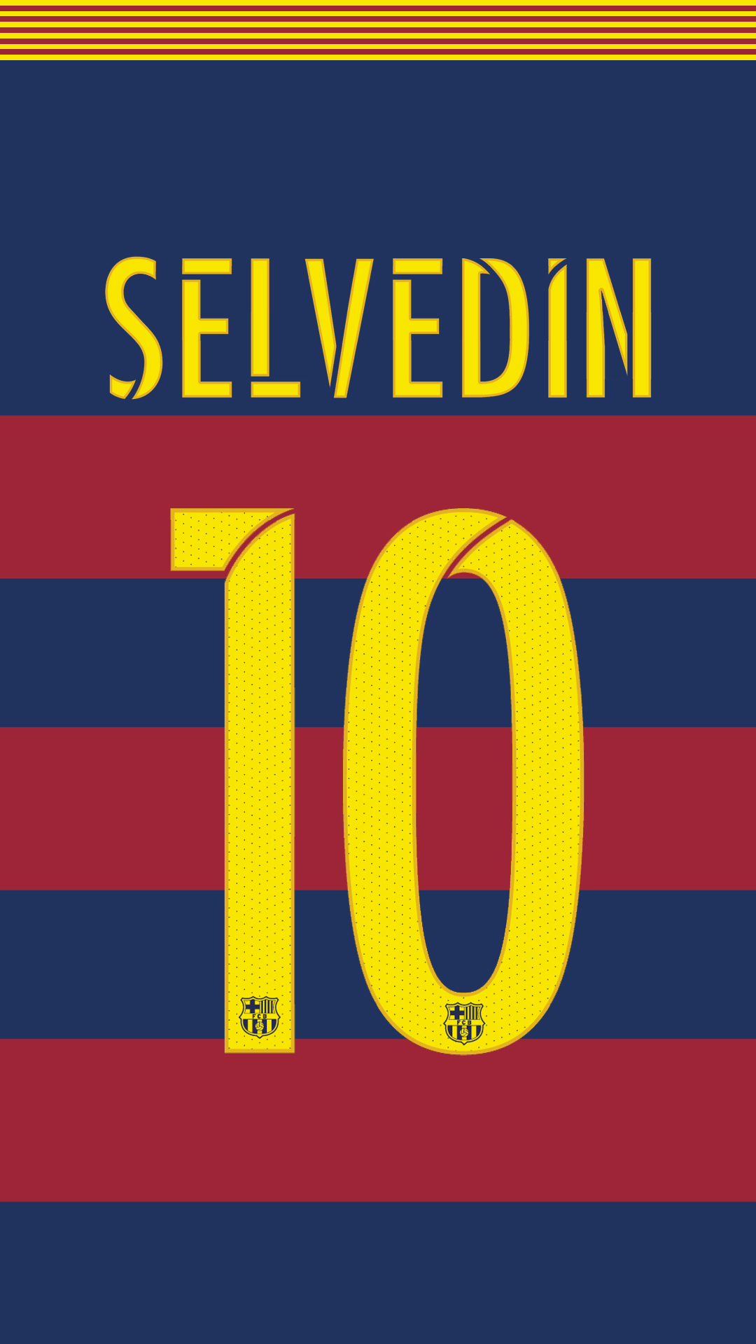 FC Barcelona jersey 2015/16 (NEW FONT) by SelvedinFCB on DeviantArt