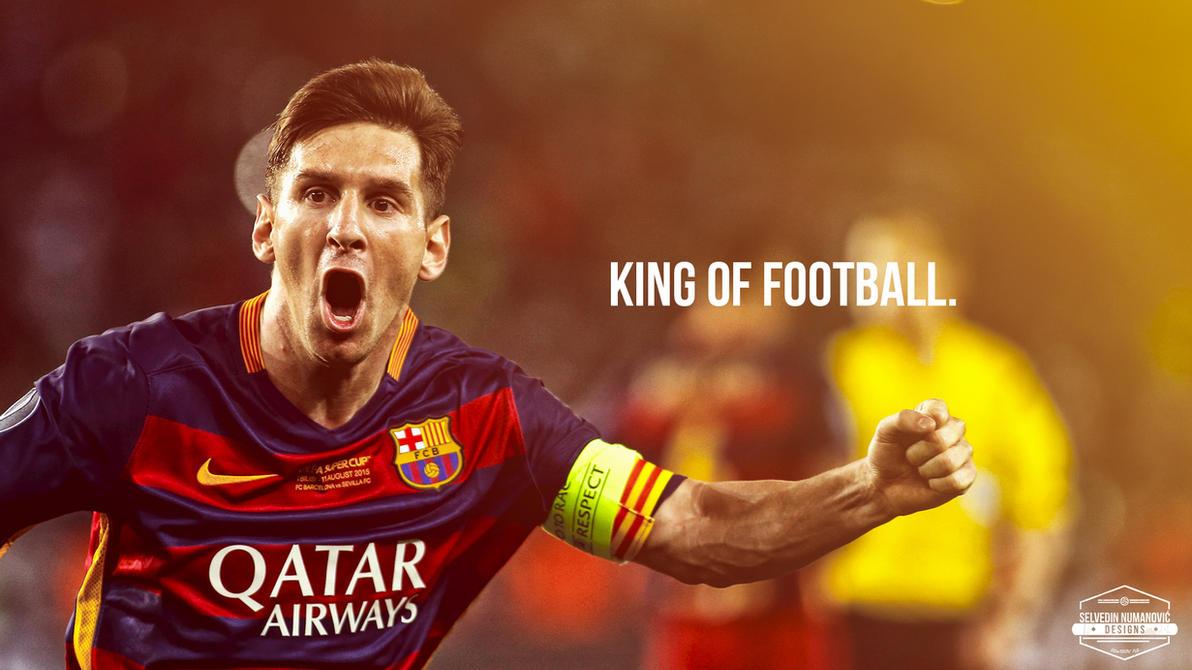 Lionel Messi WALLPAPER 2015 By SelvedinFCB