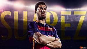 Luis Suarez - FC Barcelona 2015 HD WALLPAPER