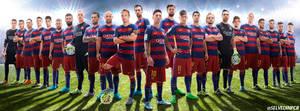 FC Barcelona Facebook cover HD 2015/16