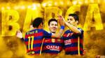 Messi Suarez Neymar 2016 - HD WALLPAPER