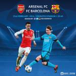 Arsenal vs FC Barcelona - Champions League 2016