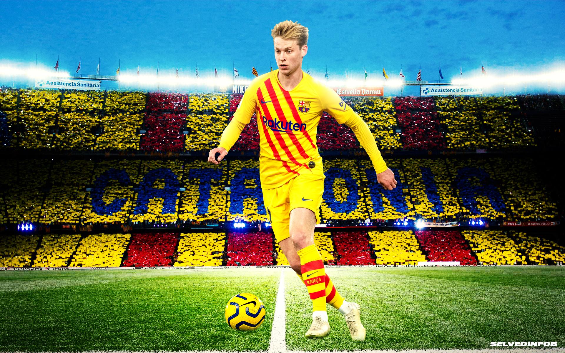 Frenkie De Jong Fc Barcelona Wallpaper 2020 By Selvedinfcb On Deviantart