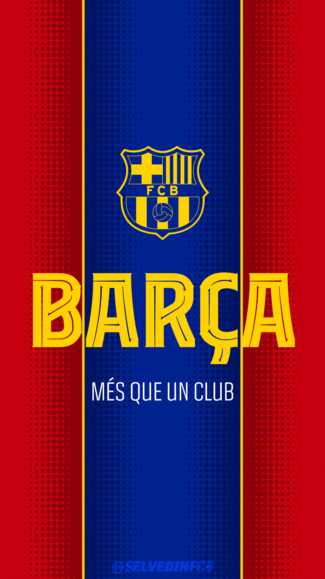 Fc Barcelona Phone 4k Wallpaper By Selvedinfcb On Deviantart