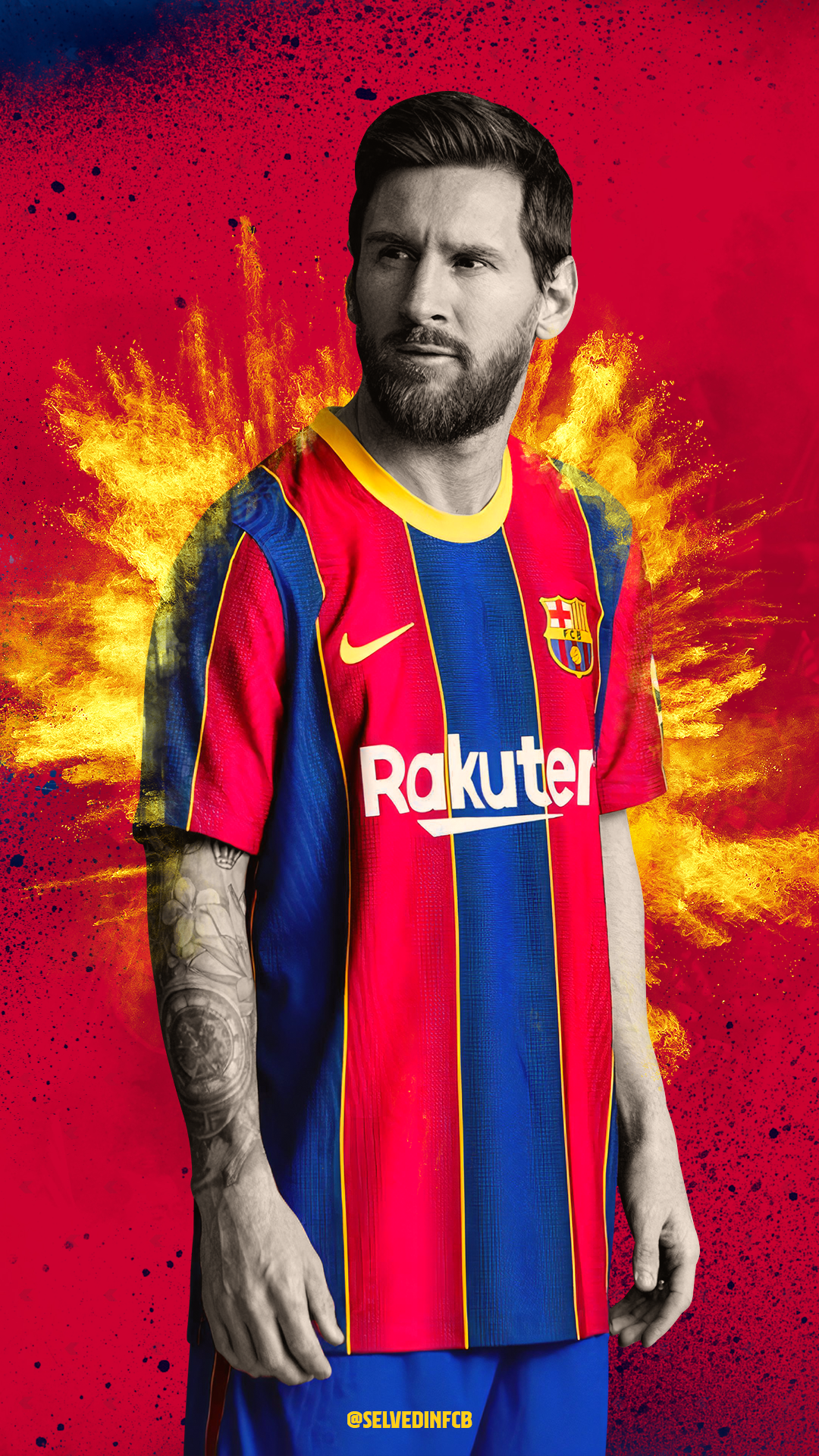 Lionel Messi 2021 4k Wallpaper By Selvedinfcb On Deviantart