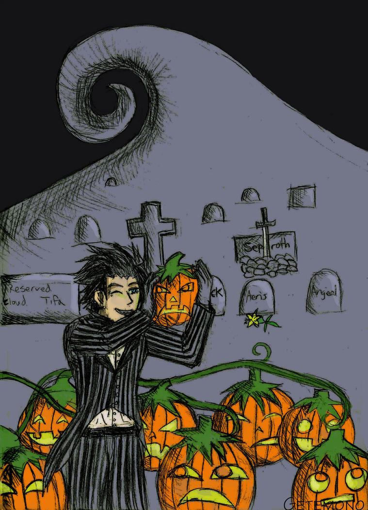 Zack the Pumpkin King by Getemono