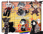 LIMITED EDITION CHIBI HALLOWEEN ADOPTABLES (OPEN)