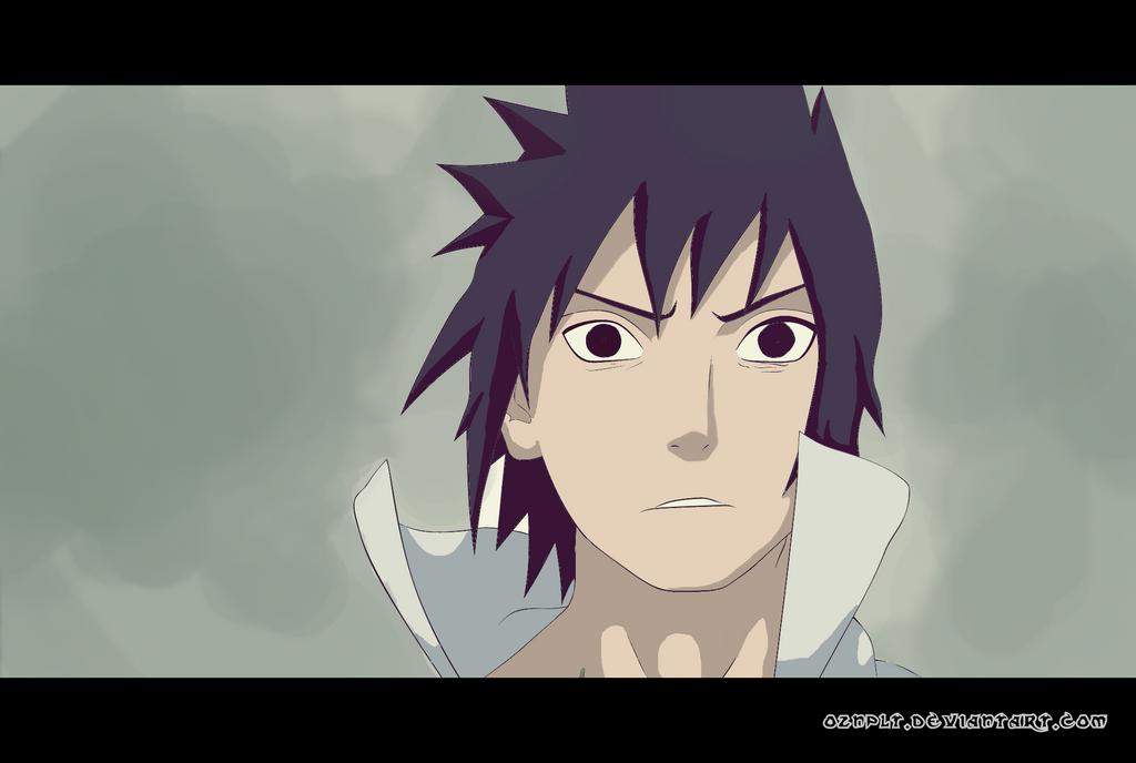 Sasuke Painting by oznplt