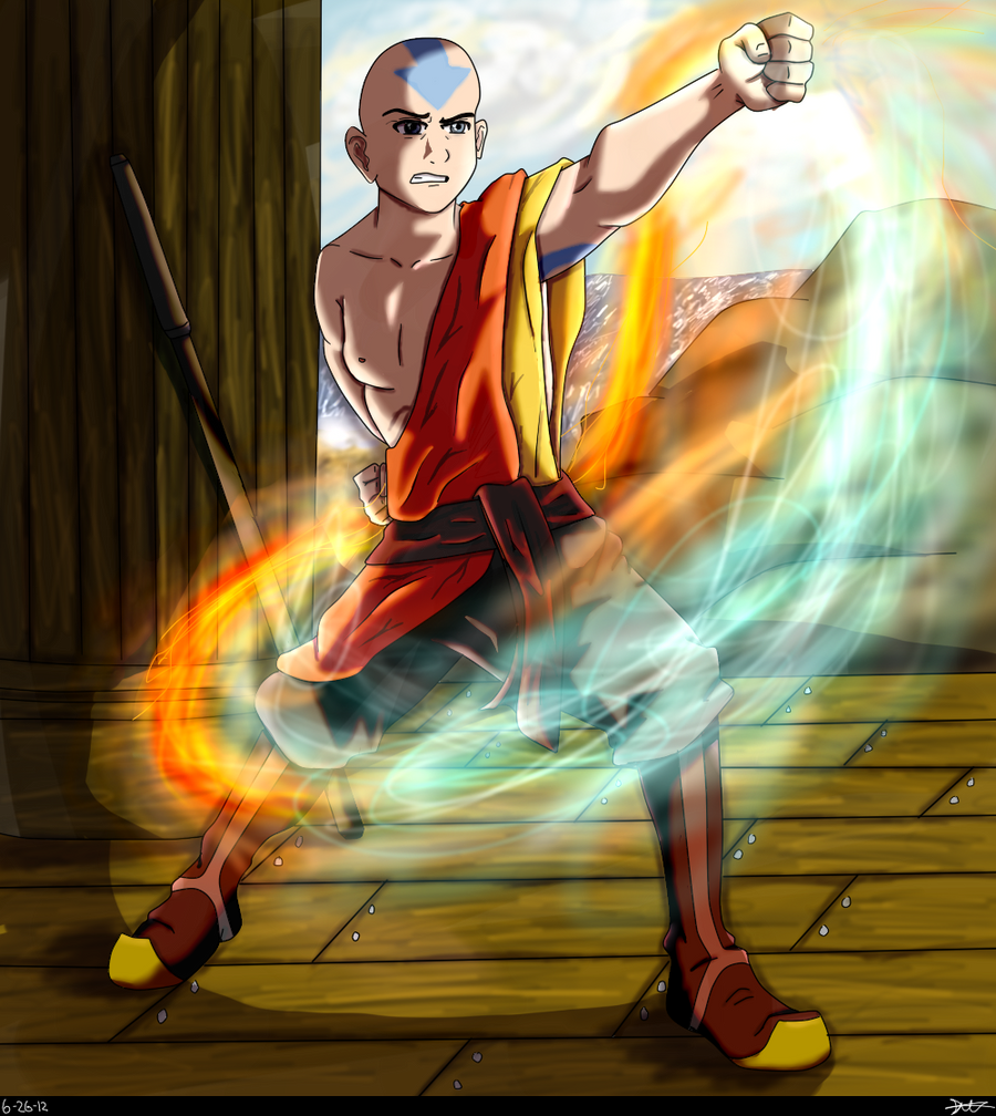 'A' for Aang