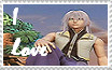 I Love Riku Stamp by Wokawaii