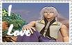 I Love Riku Stamp by Wokawaii