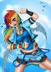 Rainbow Dash - Nothing can stop me
