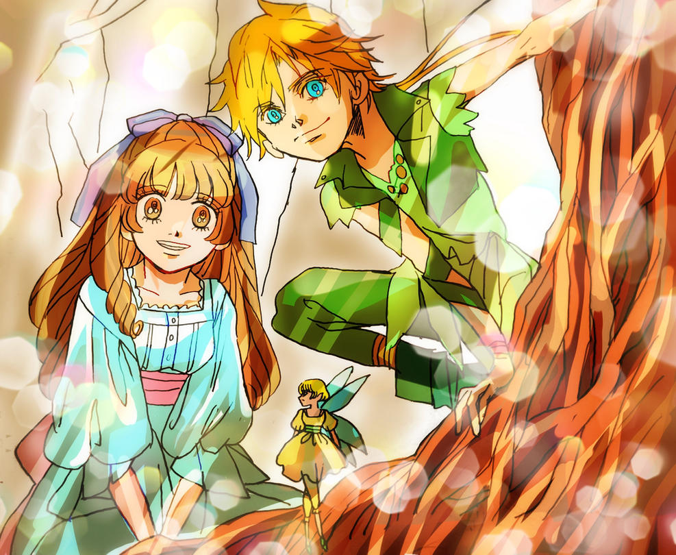 Peter and Wendy by Peterhamond