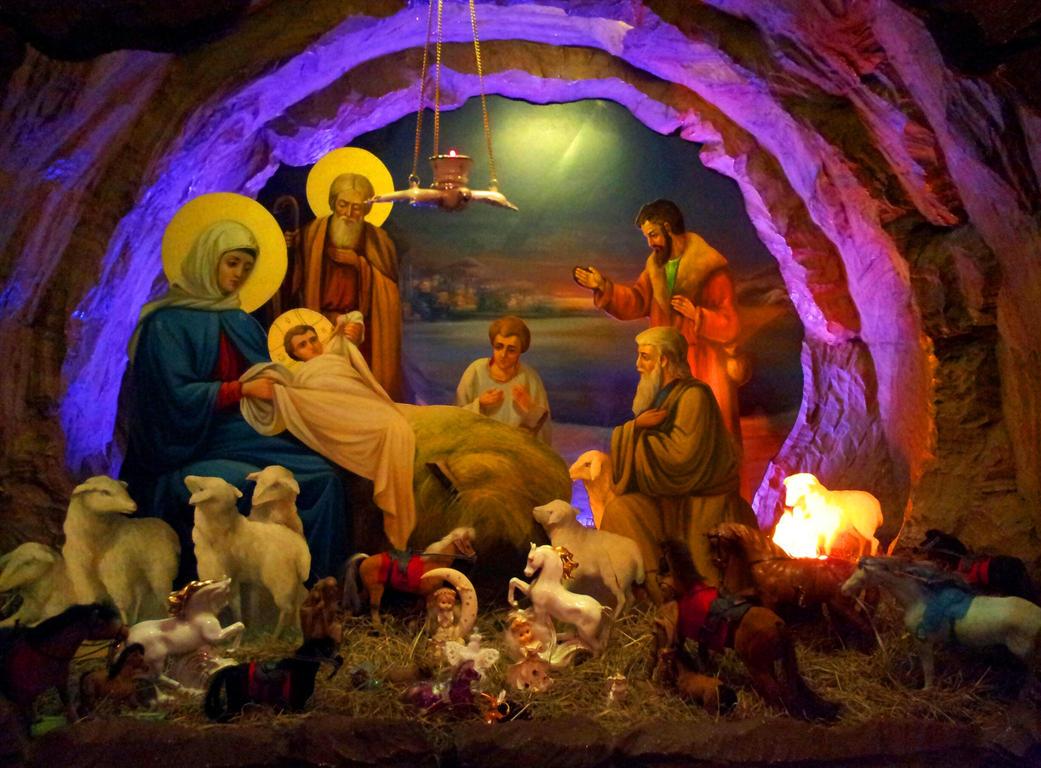Nativity scene by Kit2000andAnna