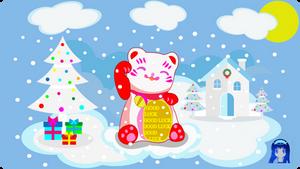 Winter Manekineko