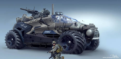 DMV ARMY vehicle by darmardesign