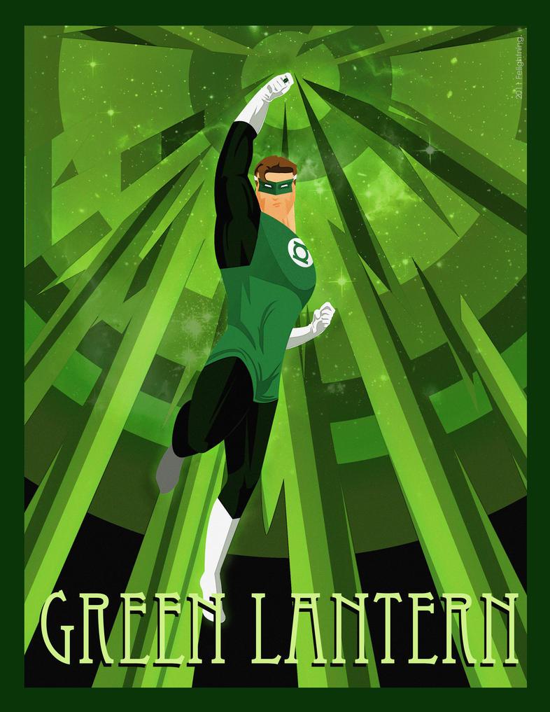 retro green lantern wallpaper - photo #14