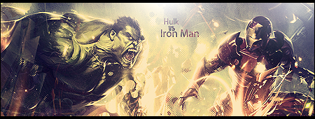 Hulk Vs Iron Man Sig by d0bch0