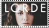 Lorde Stamp by cateawren
