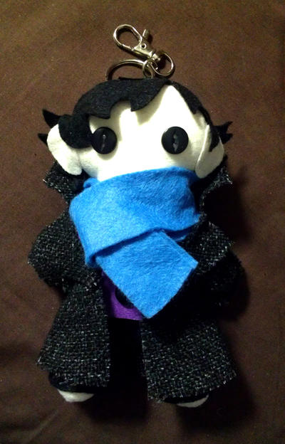 :Sherlock Keychain: by Arkeresia