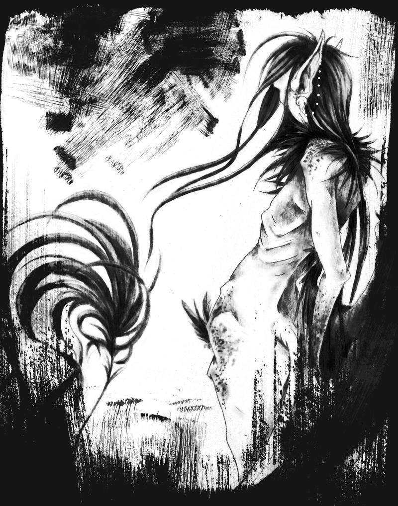 leaden winged burden. by Arkeresia