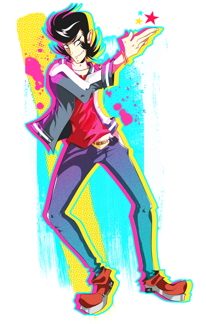 A dandy guy in space. by Arkeresia