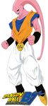 Super Buu - Gohan Absorbed Colored by Peetzaahhh2010