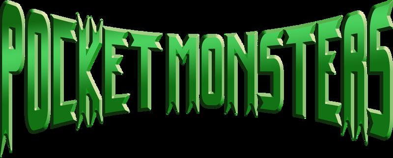 Pocket Monsters Logo in English by Peetzaahhh2010
