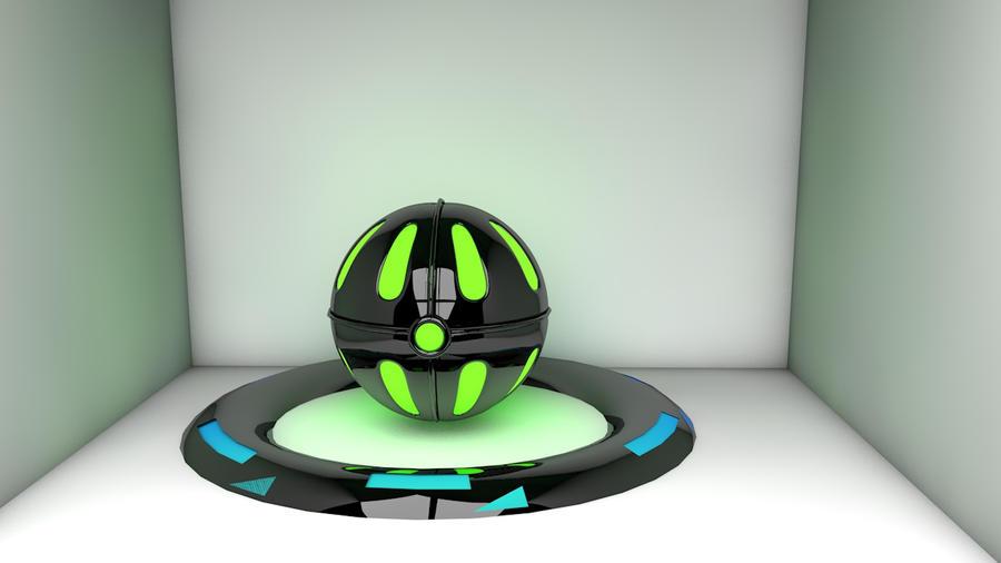green power Orb by HizzyGaze