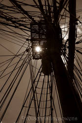 looking up bounty's mast by ChristinePhotoArt
