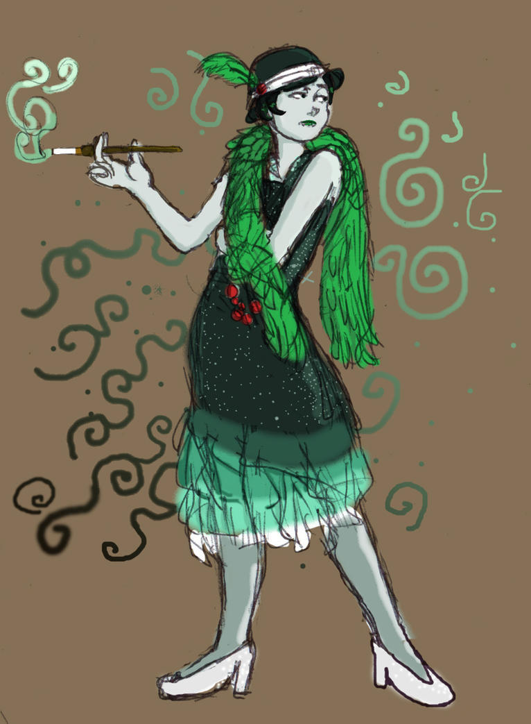 Flapper Kanaya...?? by the3712thstar