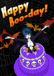 Happy Boo-Day! by BarbecuedIguana