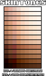Skintone Palettes
