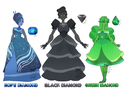 (updated) Supreme Diamonds  [OC Ref. Sheet] by Pleading-Peasant