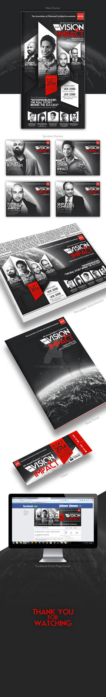 Vision to Impact Poster by tyno2