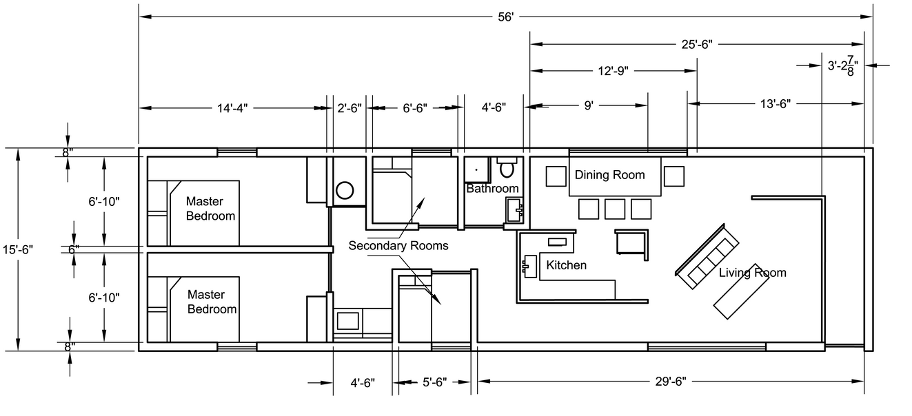 Mobile home floor plan by cloudy789 on deviantart for Pre drawn house plans