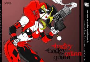 HARLEY QUINN_INSANE by DRAKEFORD