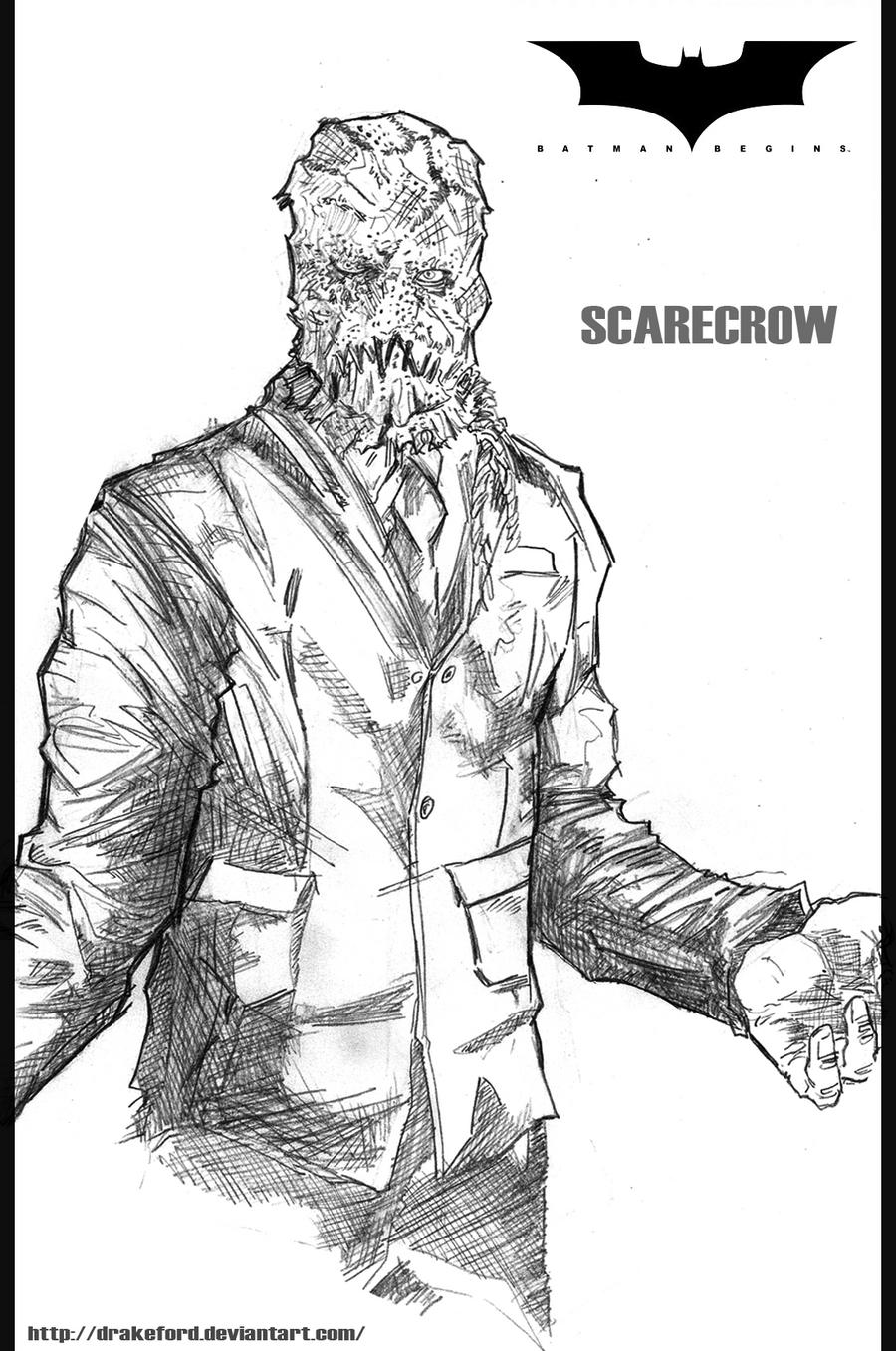 Batman Scarecrow Coloring Pages | Coloring Pages