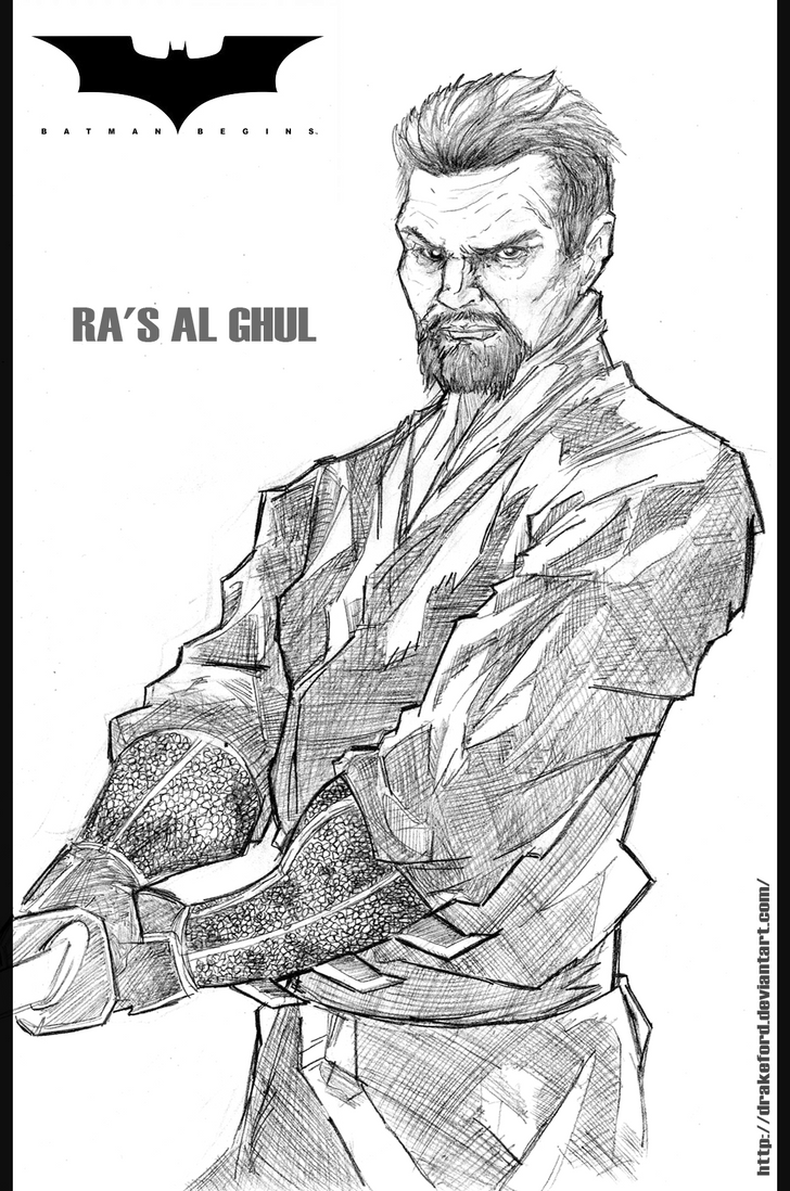 RA'S AL GHUL_BATMAN BEGINS by DRAKEFORD