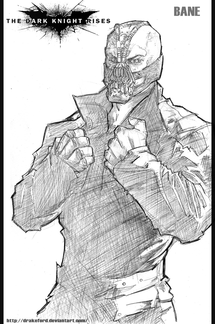 Dark knight rises coloring pages ~ BANE_THE DARK KNIGHT RISES by DRAKEFORD on deviantART