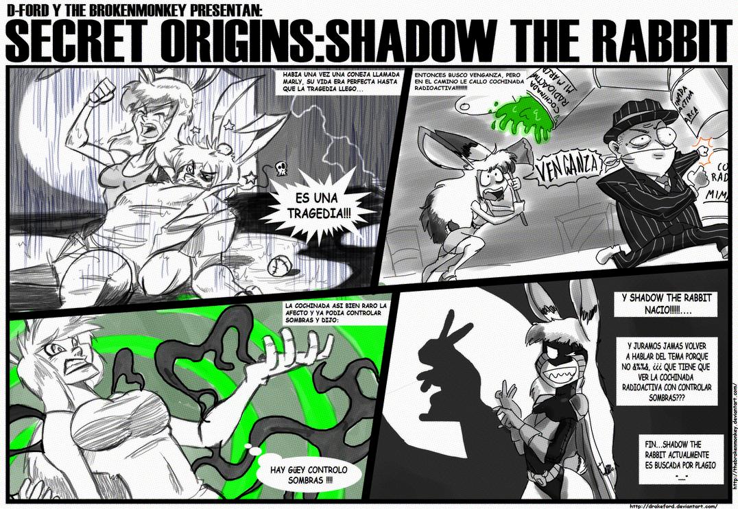 SECRET ORIGINS: SHADOW THE RABBIT!!! by DRAKEFORD