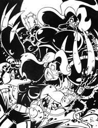 Batman Villains Mashup: POISON IVY / BANE