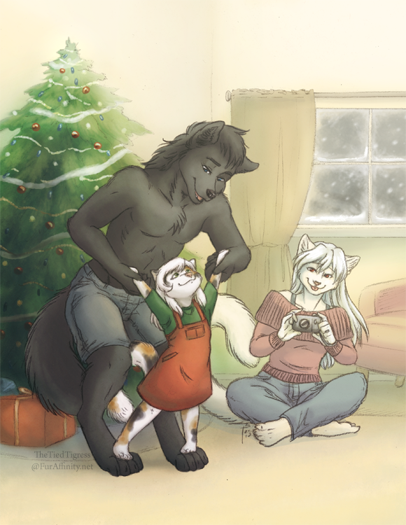 Christmas Memories by TheTiedTigress