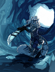 Encounter in the Ice Tunnel