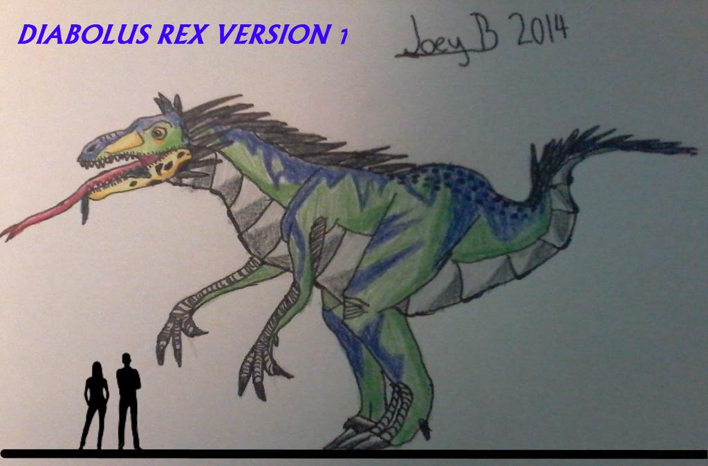 Diabolus Rex: Version 1 - themonsterdude by themonsterdude