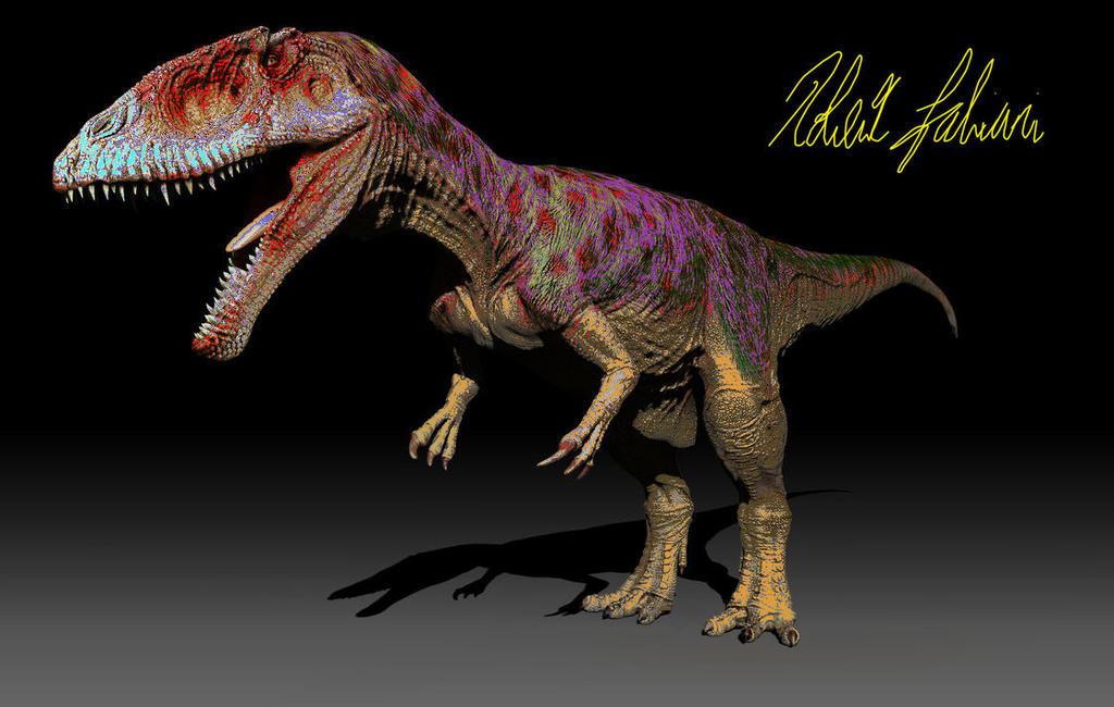 mesozoica carcharadontasaurus reskin by themonsterdude