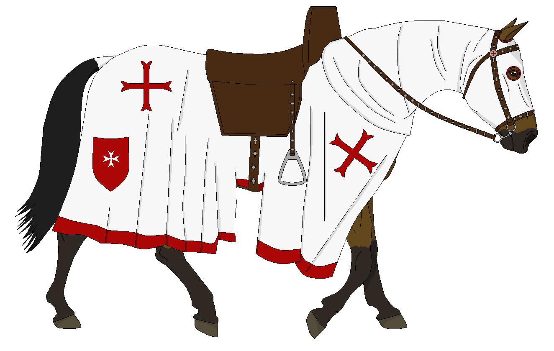 Medieval Horse by xLun...