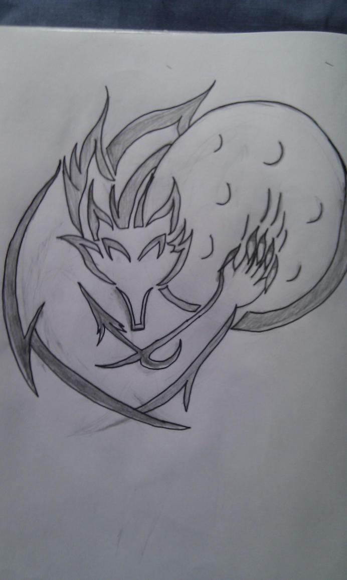 tribal werewolf tattoo design by shadowprince on deviantart