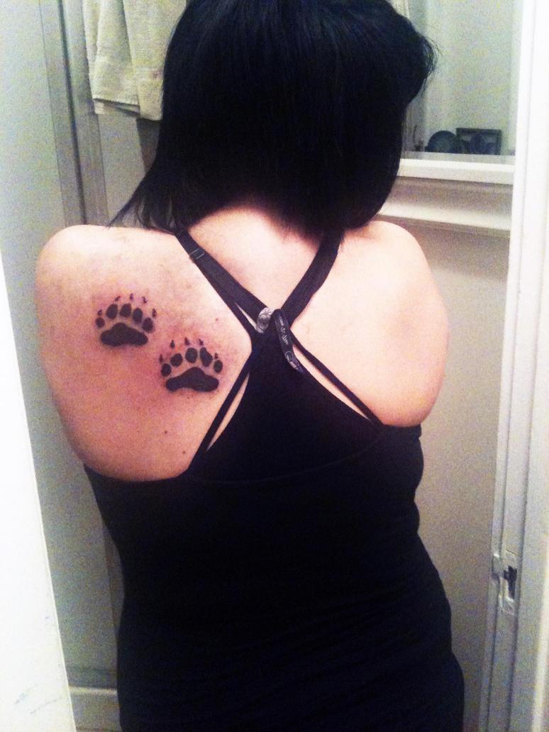 bear paws tattoo by brittneystar on DeviantArt